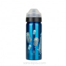Gourde isotherme anti-fuite 500ml JELLY FISH