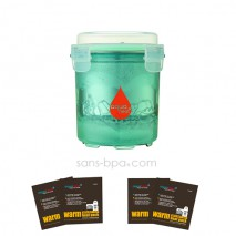 Pack Pot nomade AquaHeat  500ml + sachets
