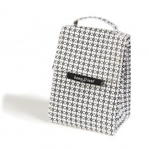 Sac isotherme Lunchbag - WHITE AND BLACK