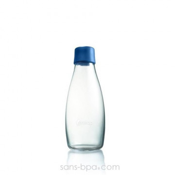 Gourde verre 300 ml - DARK BLUE