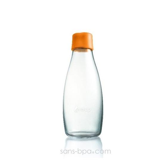 Gourde verre 500 ml CITRON