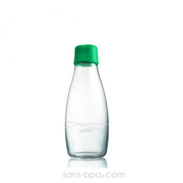 Gourde verre 300 ml STRONG GREEN