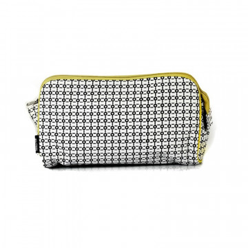 Trousse de toilette coton bio BLACK & WHITE