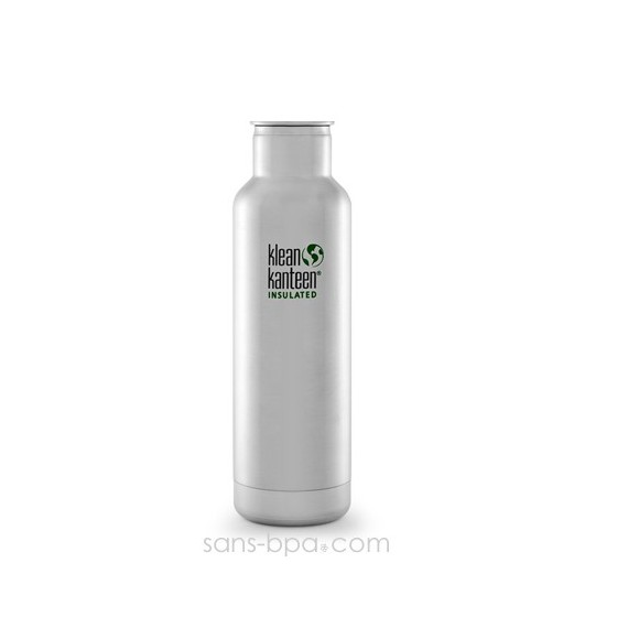 Gourde isotherme inox 590 ml - SILVER