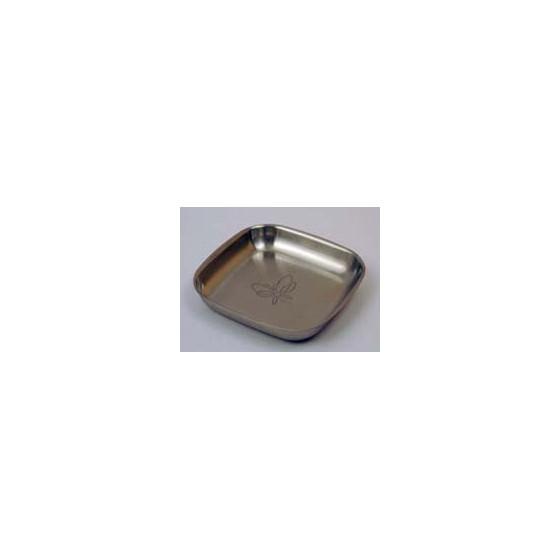 Assiette inox 16 cm GOUTTE