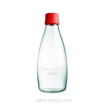 Gourde verre 800 ml GRENADE