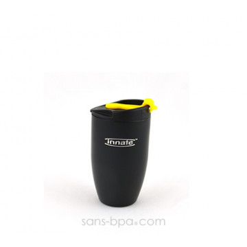 Gobelet inox isotherme 240 ml - Noir - DOPPIO Deluxe