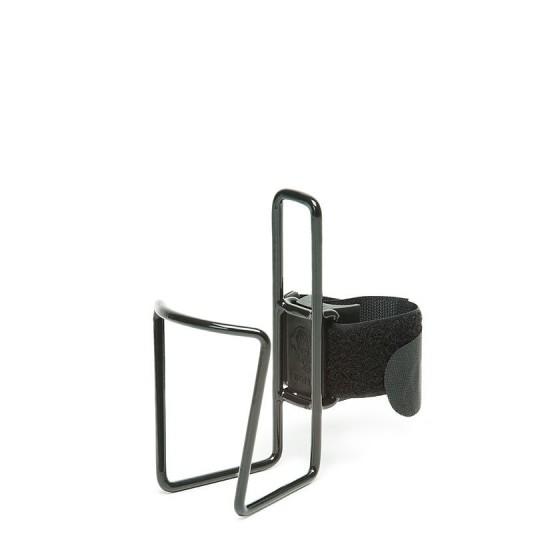 Porte bidon inox Noir Standard 350 à 800