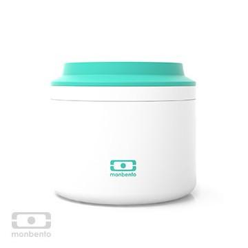 Boite repas inox isotherme 650 ml - Jade