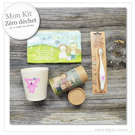 Kit Brosse à dents Kids Koala Jack & Jill