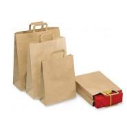 Pochette cadeau kraft 22 x 29