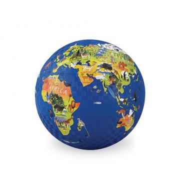 Balle caoutchouc 18 cm PLANÈTE ANIMAUX