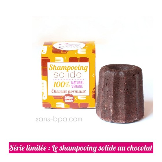 Shampooing solide Cheveux Normaux - CHOCOLAT !!