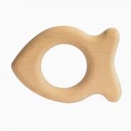 Anneaux dentition en bois - POISSON