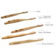 Brosse à dents RONDO médium 100% biodégradable - Eco Bamboo