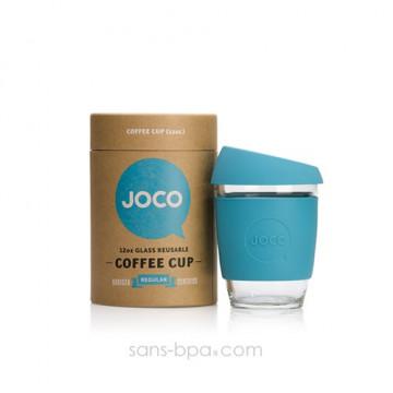 Joco Cup tasse à emporter en verre - Bleu