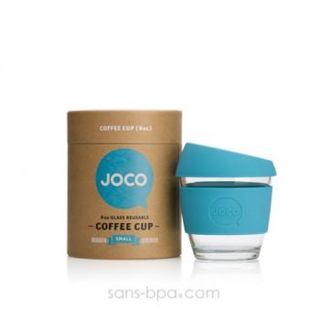 Petit Joco Cup tasse verre 230ml - Bleu