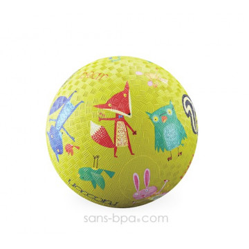 Balle caoutchouc 18 cm FORET