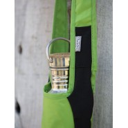 Sac bandoulière à gourde - Green