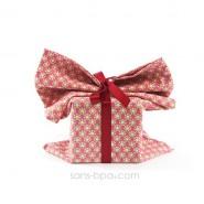 Pochette cadeau tissu Bio - Smart Rose