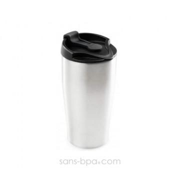 Tasse inox isolée 473 ml Inox- Américano