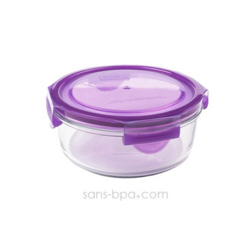 Contenant verre Meal Bowl 660ml - Raisin