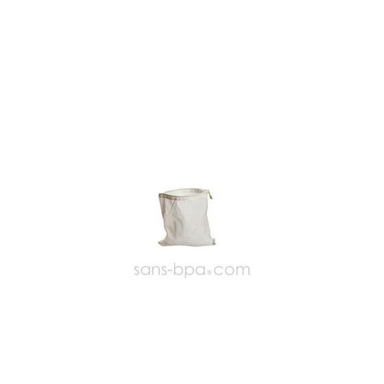Lot 5 sachets à thé tissus gaze - Taille 9 x 9 cm