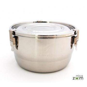 Cabosse - Boite inox diamètre 20cm - ONYX