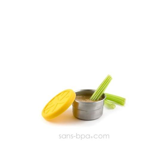 Boite inox & silicone - XS Citron