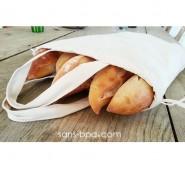 Sac à pain coton Bio - Ah Table !