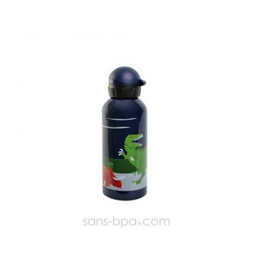 Gourde inox 600 ml - Dino