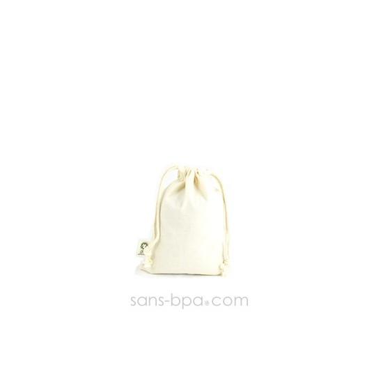 Mini sac coton Bio 10 x 14 cm Taille 1