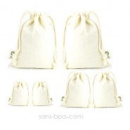 Kit 6 sacs coton Bio 1 - 2 - 3