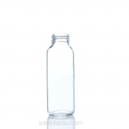Biberon verre 250 ml BLEU PERLE