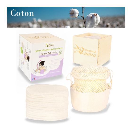 Kit Eco Belle Coton Bio - BOIS