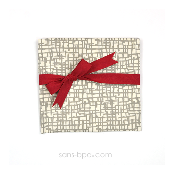 Pochette Cadeau MESH - ruban Rouge