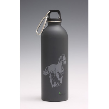 Bouteille inox HORSE 1 litre d' EARTHLUST