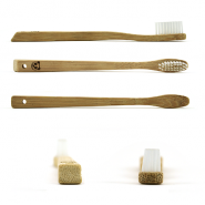 Lot 4 brosses à dents bambou Modèle Kid