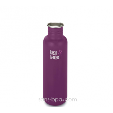 Gourde inox 800 ml WINTER PLUM * COAT *