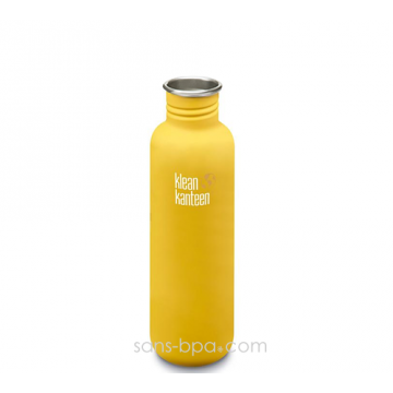 Gourde inox 800 ml LEMON CURRY * COAT *