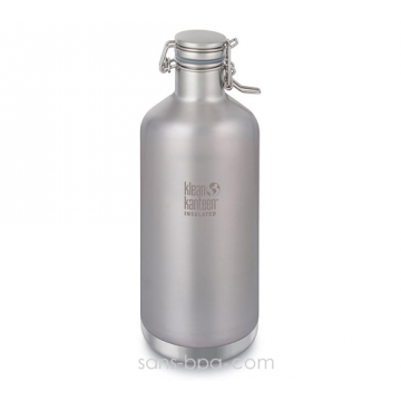 Gourde isotherme inox 1900 ml - SILVER