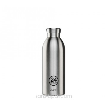 Bouteille inox isotherme 500ml CLIMA - Inox