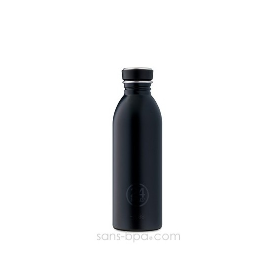 Gourde inox 500 ml Noir