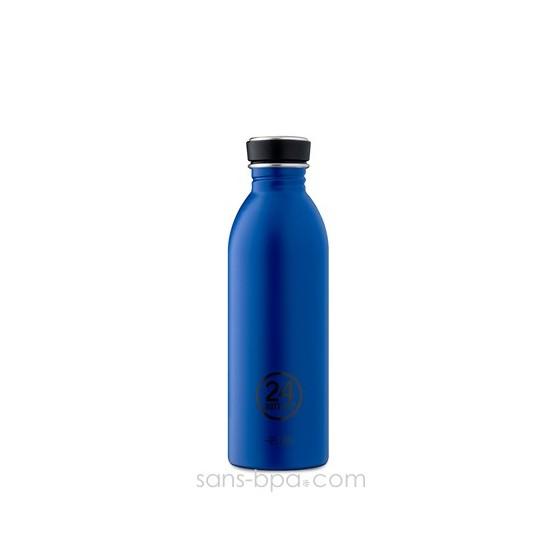 Gourde inox 500 ml Bleu Roi