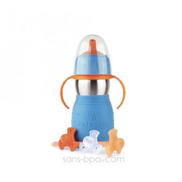 Safe Sippy anti-fuite 330ml BLEU
