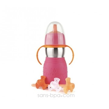 Safe Sippy anti-fuite 330ml ROSE