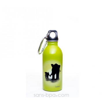 Gourde inox 400 ml ELEPHANT