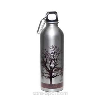 Gourde inox 1 L Tree - EarthLust