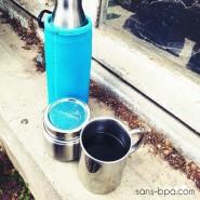 Tasse inox double paroi 200ml