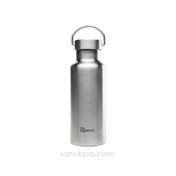 Bouteille isotherme 500ml Travel Pot - Inox